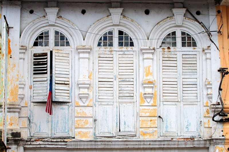 Window shutters are seen in the charming old town district of Ipoh, Malaysia. — Pictures courtesy of Lonely Planet