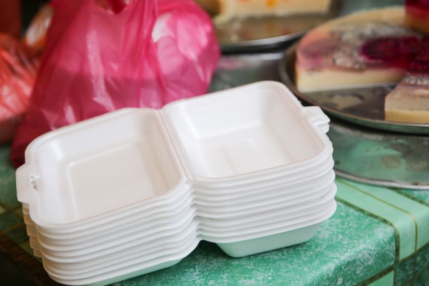 Plastics manufacturers say that contrary to popular belief, polystyrene packaging can be recycled. — Picture by Choo Choy May