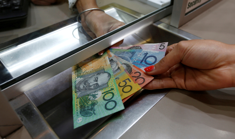 The surge in the Australian dollar today clearly shows its dependence on  China's economic fortunes. — Reuters pic