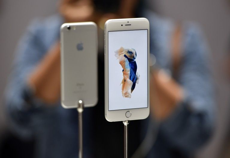 The new iPhone prices offer savings across the board. — AFP pic