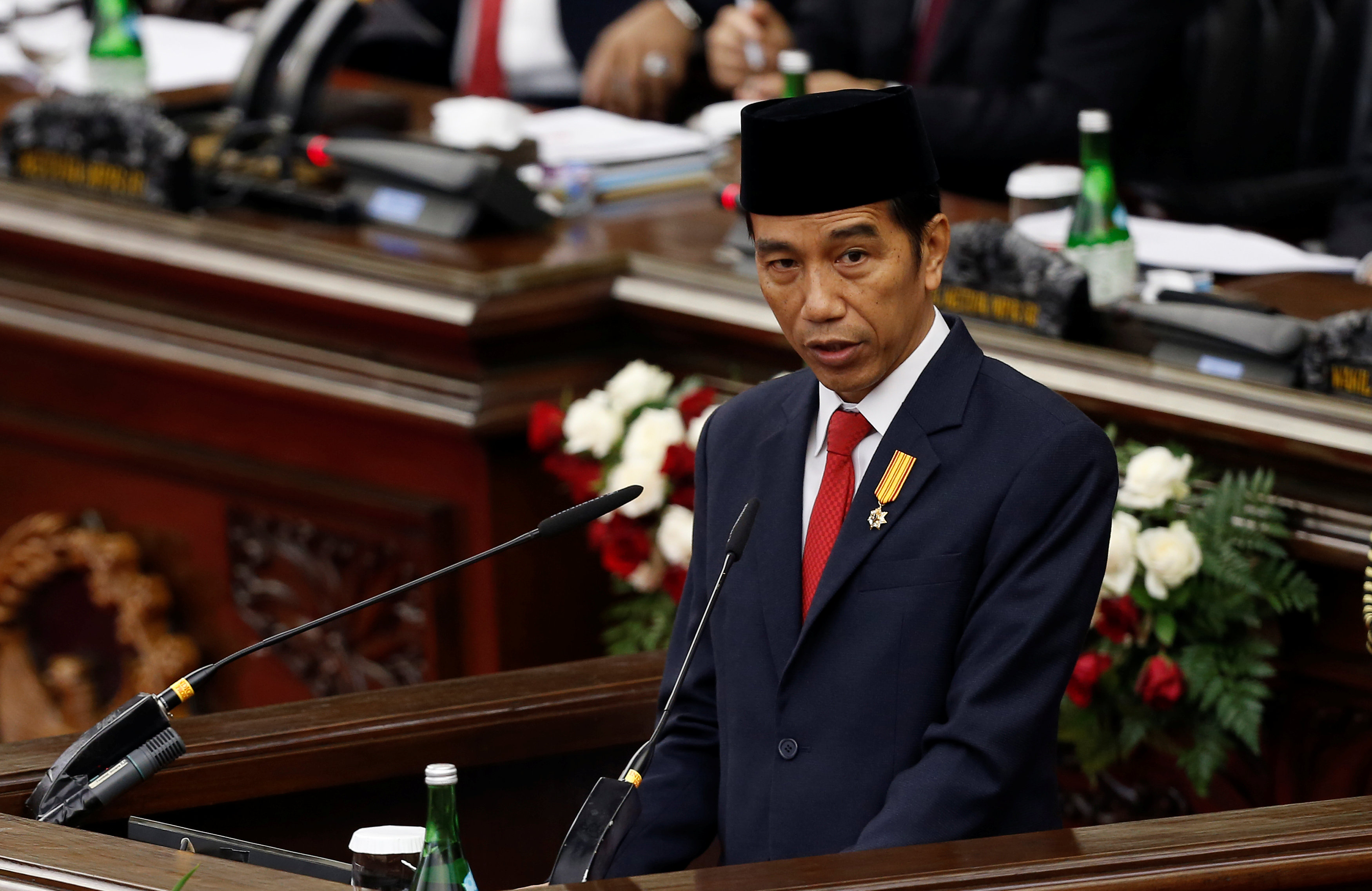 Indonesia's Widodo introduced a series of tough punishments for child sex offenders in May through an emergency decree, including chemical castration, following an outcry over the fatal gang-rape of a schoolgirl. — Reuters pic