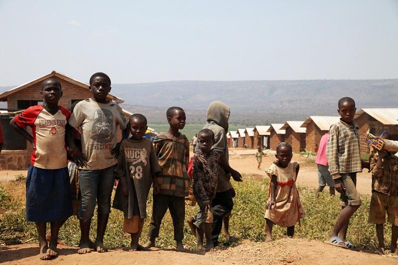 Burundian refugee are seen at the Mahama refugee camp, Rwanda, July 14, 2016. — Reuters pic