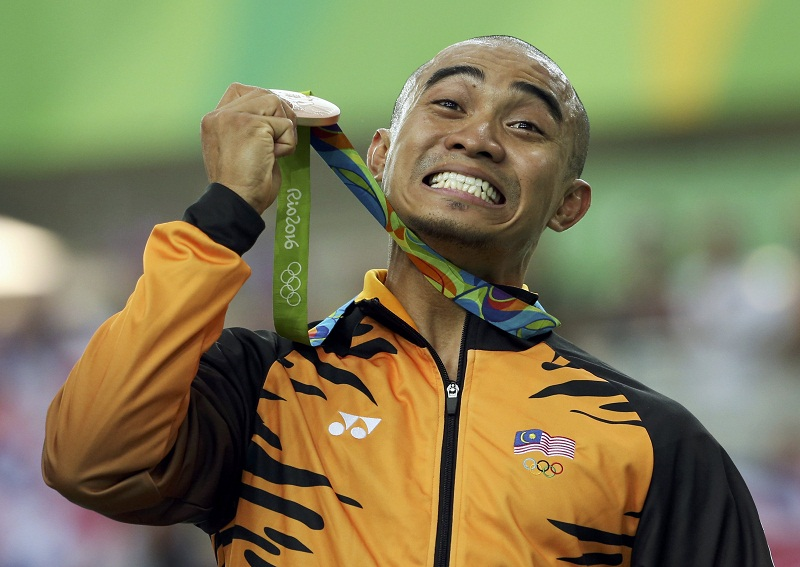 Datuk Azizulhasni Awang is seen as one of Malaysia's medal hopes for Tokyo. — Reuters pic