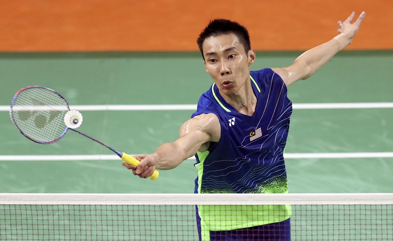 Datuk Lee Chong Wei of Malaysia plays against Chen Long of China during the men's singles final match in Rio de Janeiro, Brazil August 20, 2016. — Reuters pic