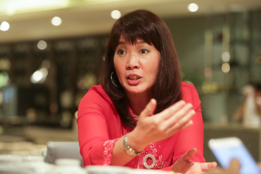 USM marine biologist Assoc Prof Dr Aileen Tan. — Picture by Choo Choy May