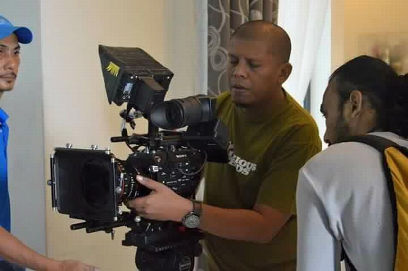 Cinematographer, Mohd Noor Kassim (centre) withdrew from the Malaysia Film Festival on August 5, 2016. — Picture courtesy of Mohd Noor Kassim.