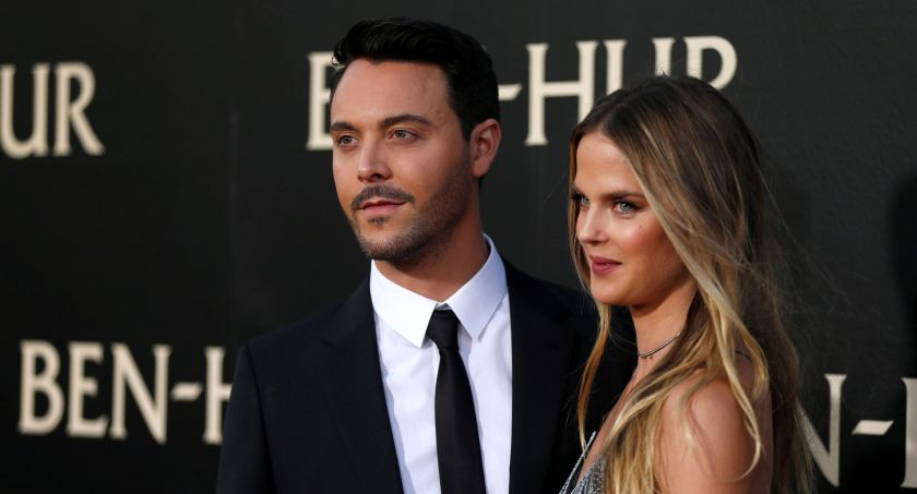 Cast member Jack Huston and model Shannan Click pose at the premiere for the movie 'Ben-Hur' at TCL Chinese theatre in Hollywood, California August 17, 2016. ― Reuters pic