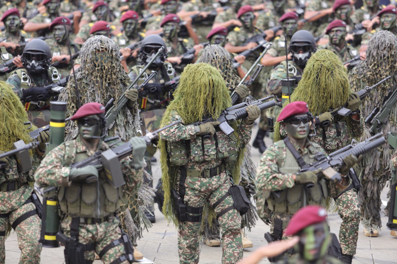 Army chief General Datuk Seri Zulkiple Kassim said the Malaysian Army currently has a team known as the Standby Army Battalion to be assigned under the UN mission against any threat of nuclear, biological and chemical weapons. — Picture by Choo Choy May