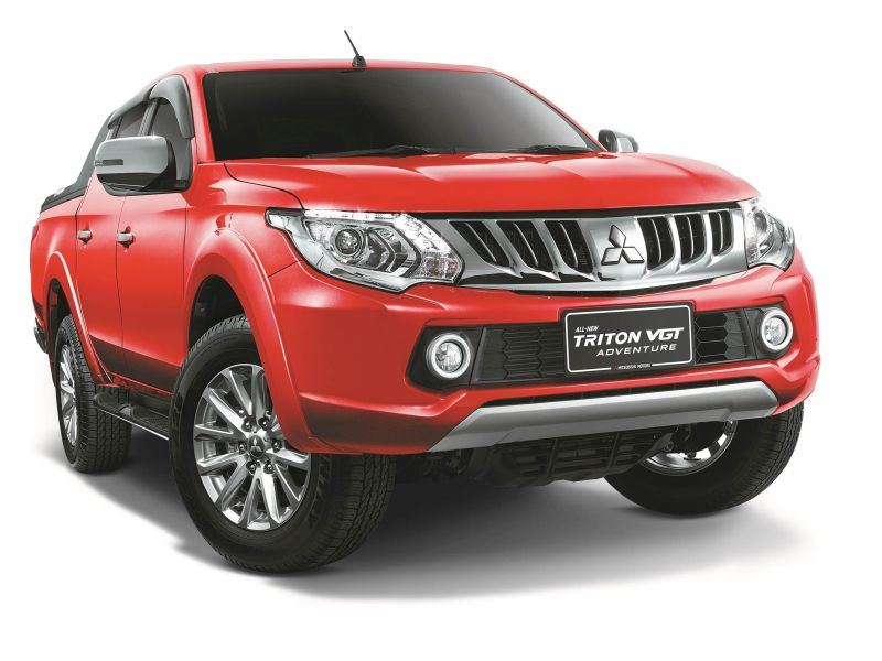 Customers who choose the all-new Triton Adventure is entitled to cash rebates up to RM9,000.
