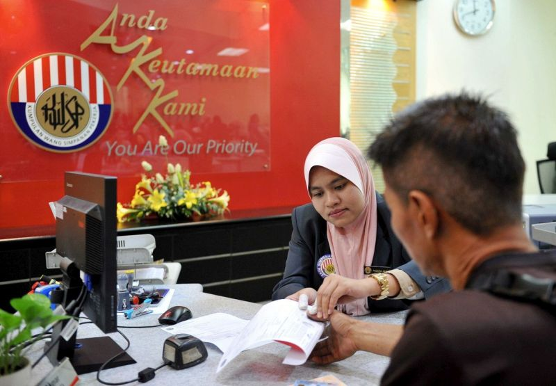 The Employees Provident Fund (EPF), which allows members to use their contributions to pay the down payment for a house can help realise the desire of low-income workers to own their own homes. — Bernama pic