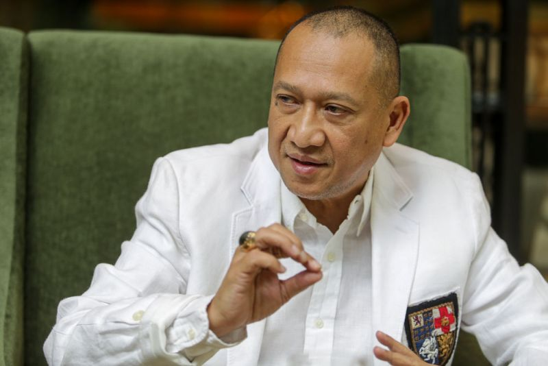 Nazri said the tax would benefit Sarawak more than it would affect tourism in the state, noting that luxury hotels that would attract the highest tax rate were a rarity in the state. ― Picture by Choo Choy May