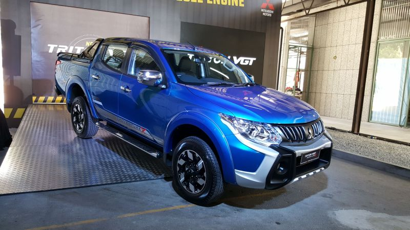 The company's volume seller is the Mitsubishi Triton. — Picture by YS Khong