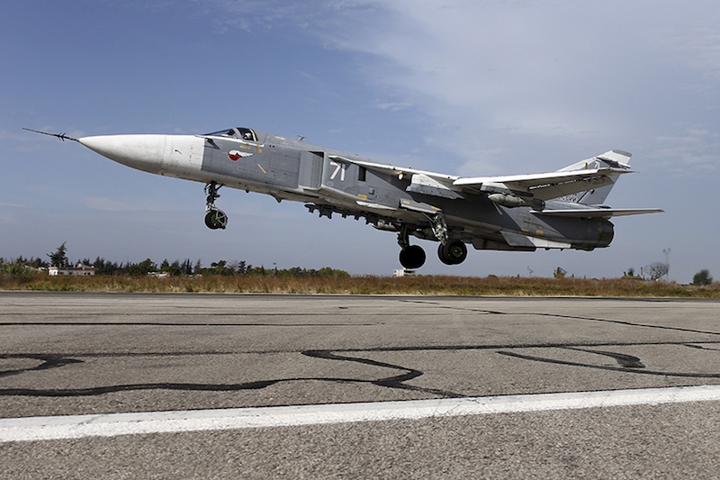 File photo of a  Sukhoi fighter jet. — Reuters pic