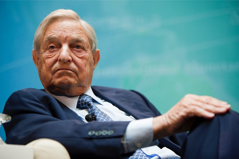 Soros has been linked to revolutions in Eastern Europe. — Picture by Malay Mail