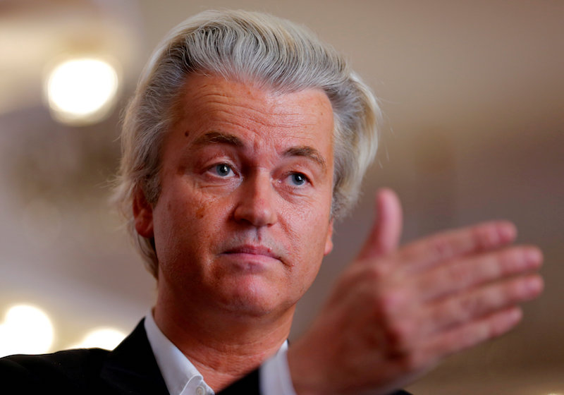 Once dubbed the 'Dutch Trump' for his bleached-blonde hair and incendiary rhetoric, Wilders has focused more during the election campaign on healthcare and opposing lockdown restrictions.— Reuters pic
