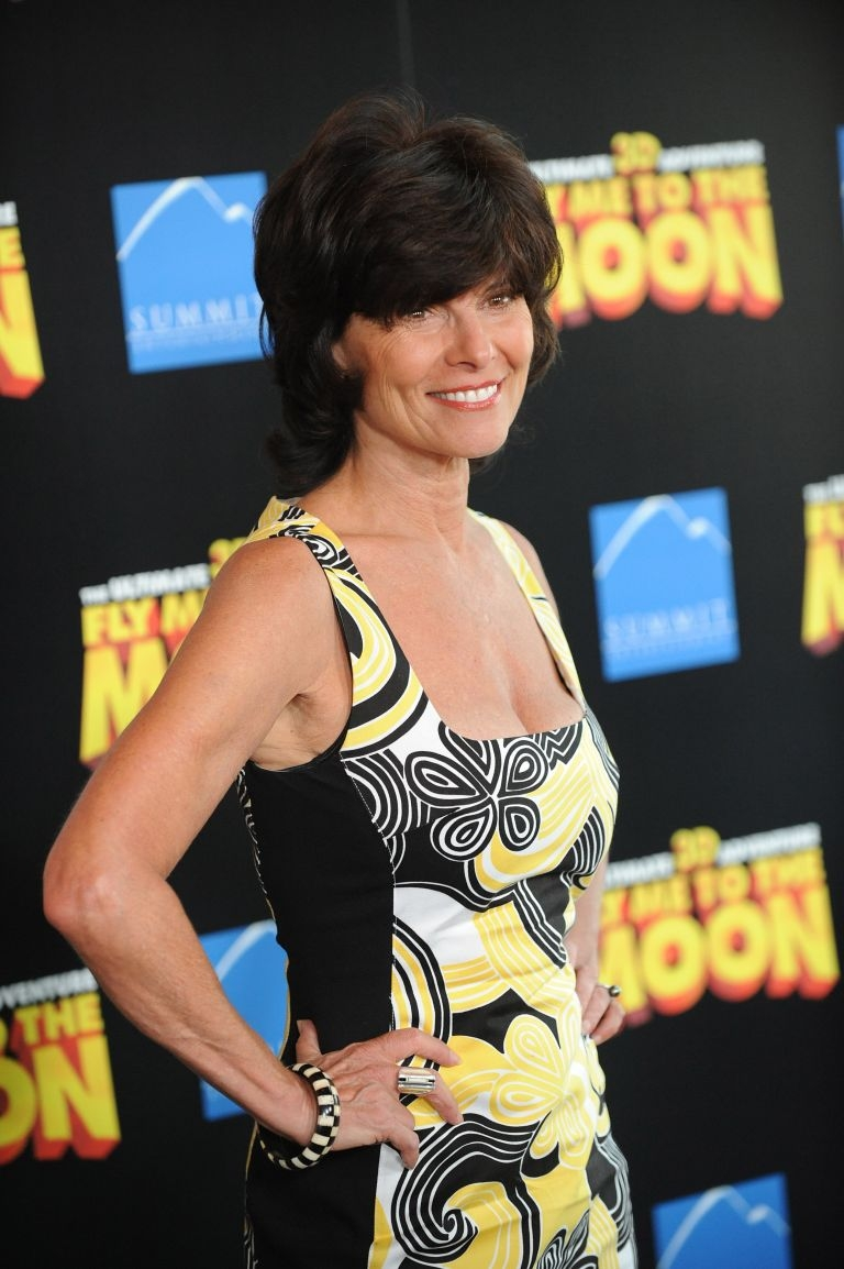 Actress Adrienne Barbeau. — AFP pic