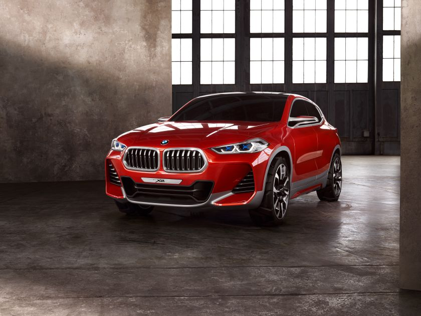 The X2 Concept is a subtly stunning show car that will go into production within the next two years as a crossover coupe. ― AFP pic