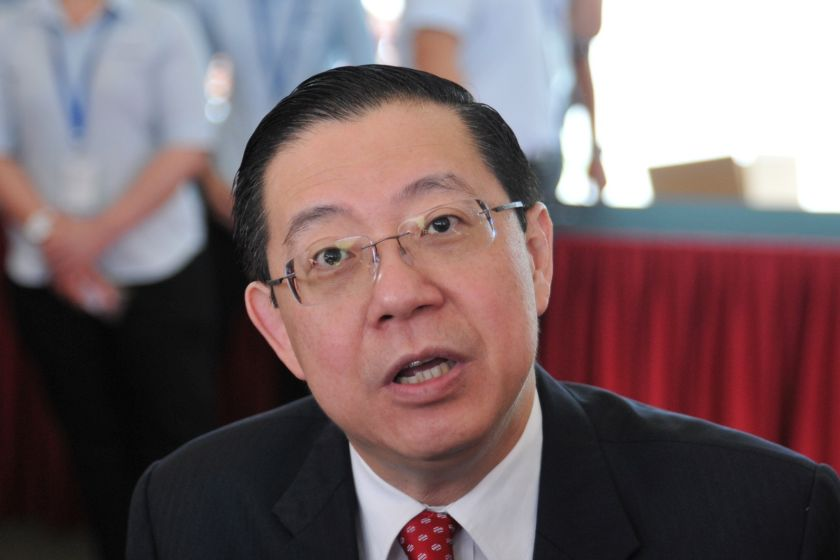 Lim stressed that the RM500 million public and affordable housing fund was taken out of the RM658 million in land sales by the state government. ― Picture by KE Ooi