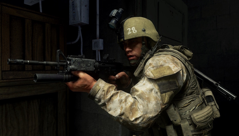 'Call of Duty: Modern Warfare' has released a social media teaser titled 'Proceed to the LZ.'  — Handout via AFP