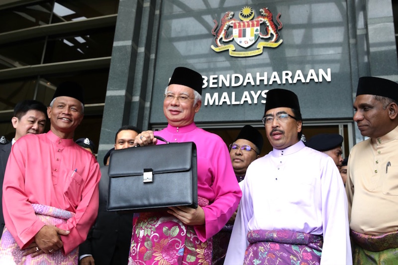 Prime Minister Datuk Seri Najib Razak is pictured before the tabling of Budget 2017 in Putrajaya October 21, 2016. — Picture by Saw Siow Feng