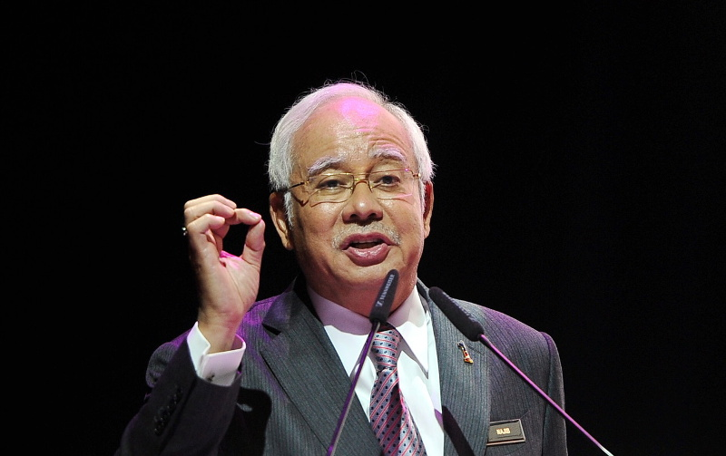 Prime Minister Datuk Seri Najib Razak explained that the police and armed forces will first inform the prime minister of any threats before calling for the deployment of the NSOF. — Bernama pic