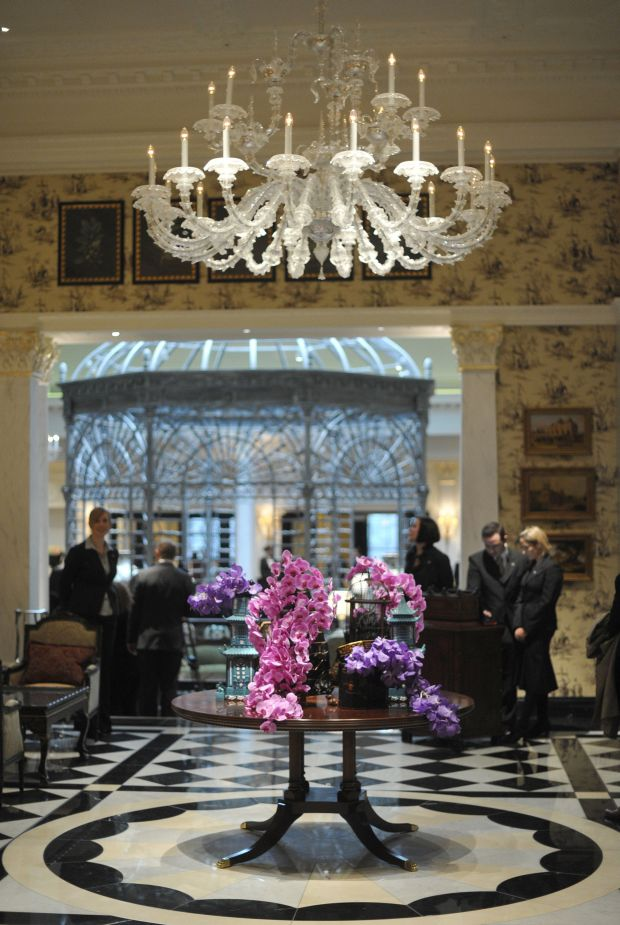 The Savoy Hotel in central London received a prize for Best Service and Best Bar in a hotel Europe. — AFP pic