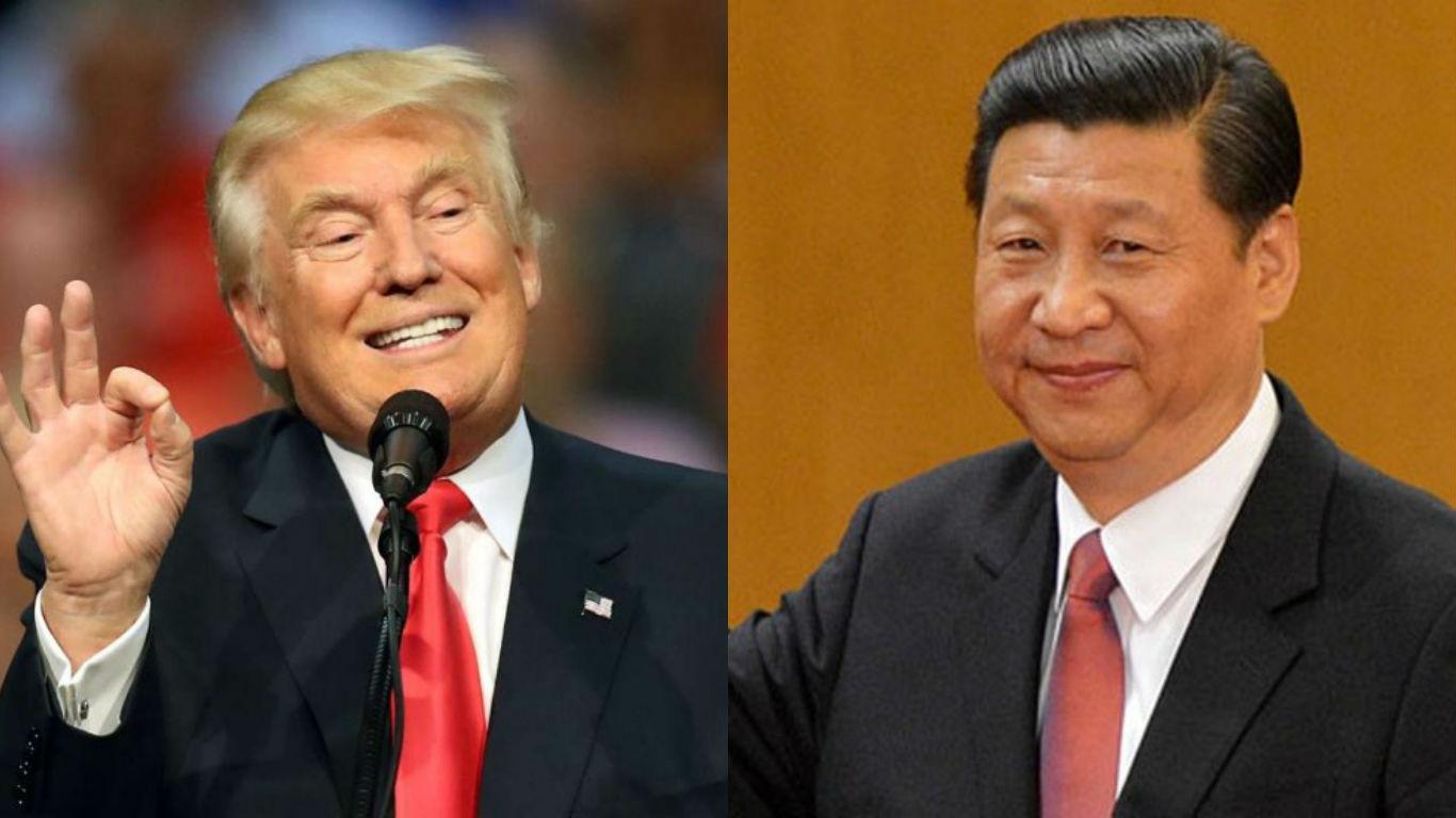 美国总统特朗普周五与中国国家主席习近平通话,表示双方将安排正式签署美中贸易第一阶段协议。-档案照-