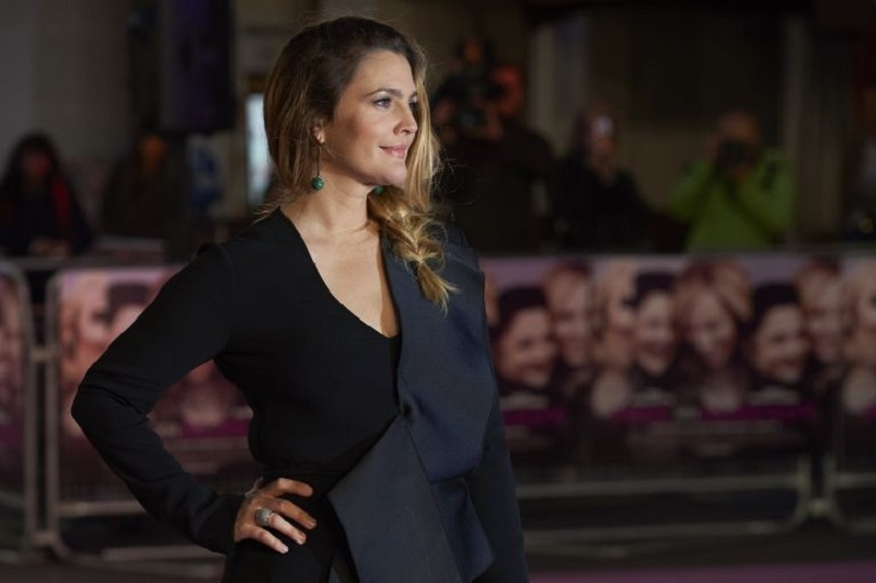 Drew Barrymore's upcoming Netflix series 'Santa Clarita Diet' has been given a premiere date on the streaming site. — AFP pic