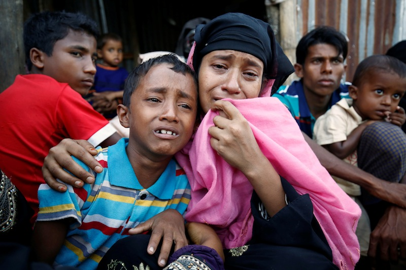 Wisma Putra said the spillover effect of the Rohingya humanitarian crisis would affect the safety, security and standing of Malaysia. — Reuters pic