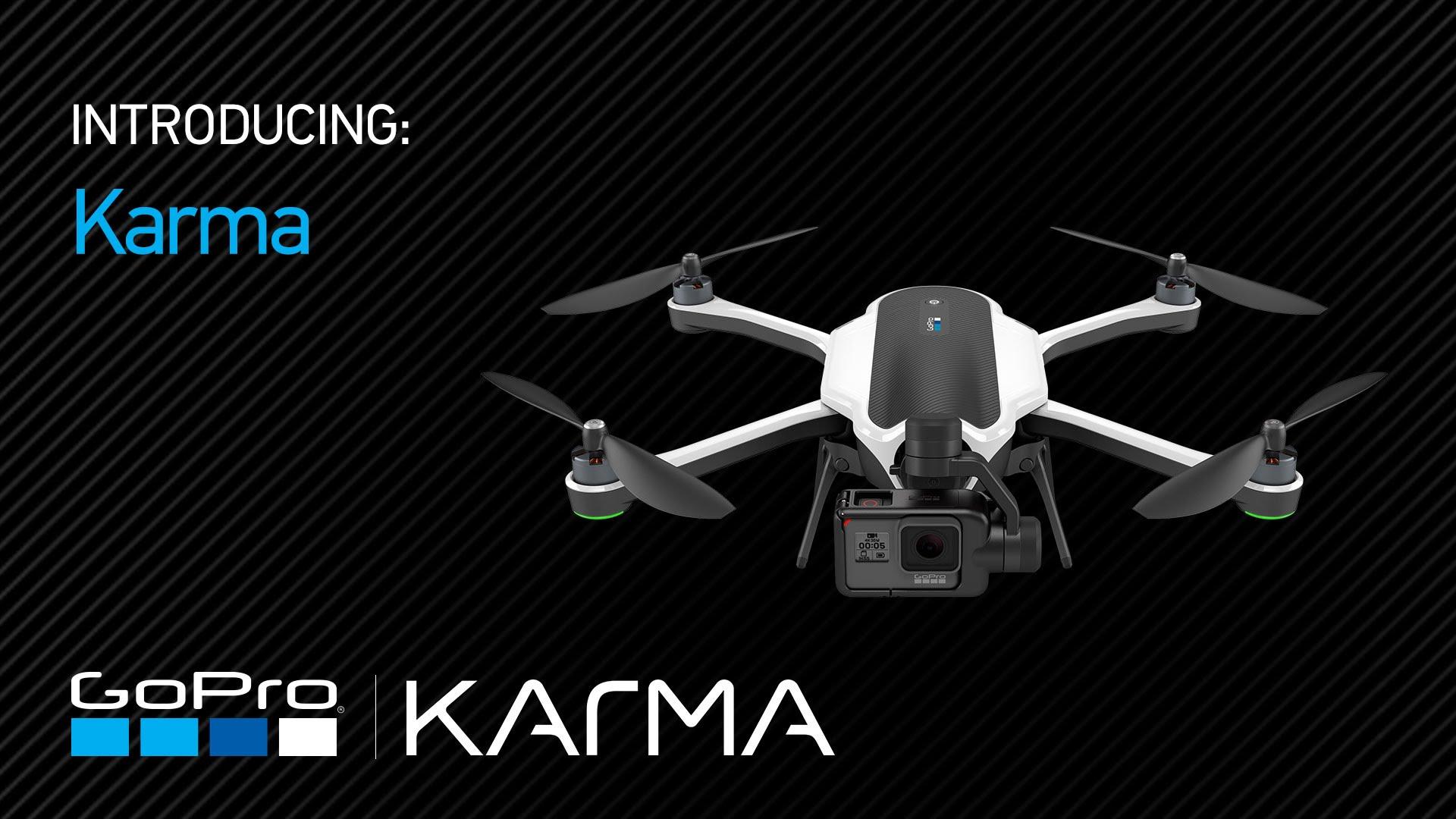 Screengrab taken from GoPro Karma drone video.