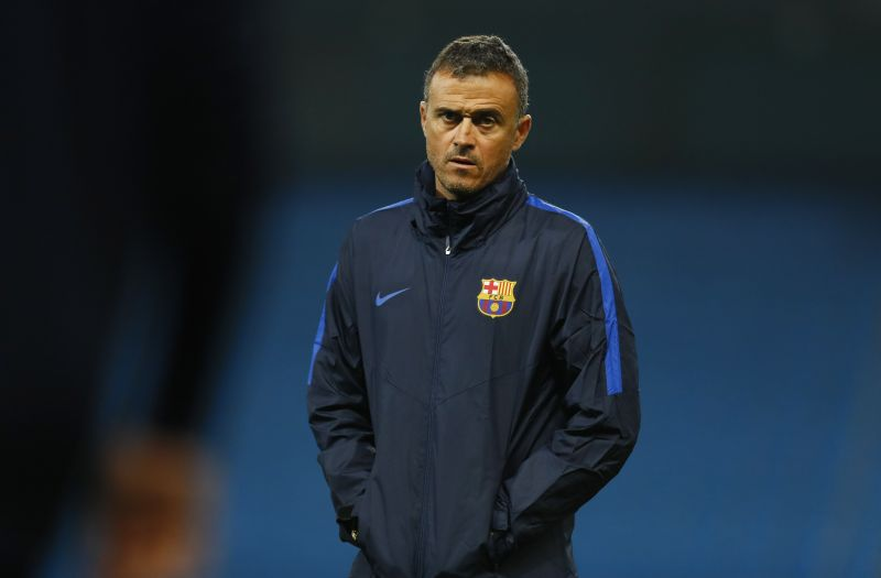 Luis Enrique holds the longest unbeaten run in Spanish history, set earlier this year when Barcelona went 39 games without defeat. ― Reuters pic