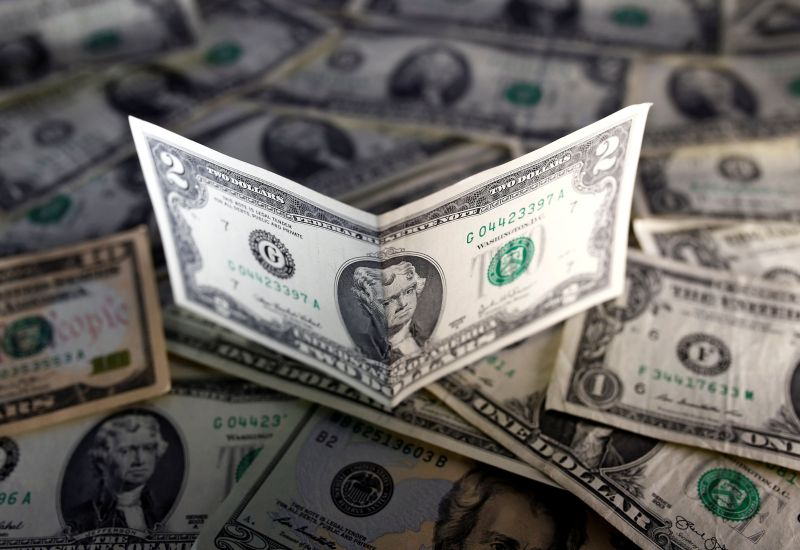 Overall, the greenback ended the week on a loss against a currency basket. — Reuters pic