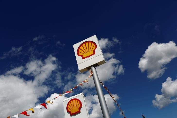 Logos of Shell is pictured at a gas station in the western Canakkale province, Turkey April 25, 2016. — Reuters pic