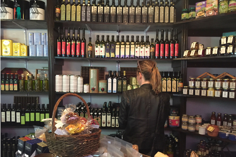 Olive Branch Deli in Cape Town showcases about 40 olive oil producers on its shelves. — Picture courtesy of Ilana Sharlin Stone via Reuters