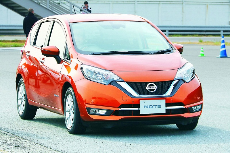 Unlike normal EVs, the Nissan has a lithium-ion battery so small it could only run a hair dryer for a little over an hour. So to keep going, the Note E-Power uses a 1.2-litre engine as a mobile generator.