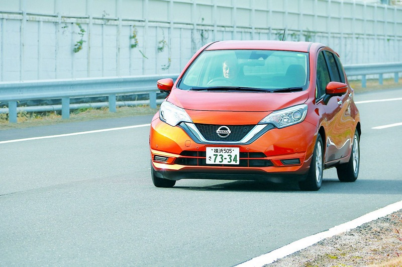The Nissan Note E-Power neatly circumvents the bugbear of electric vehicles — a dearth of charging stations — by using a petrol engine as a generator. It switches on to recharge the car's battery whenever needed. — Pictures by TODAY
