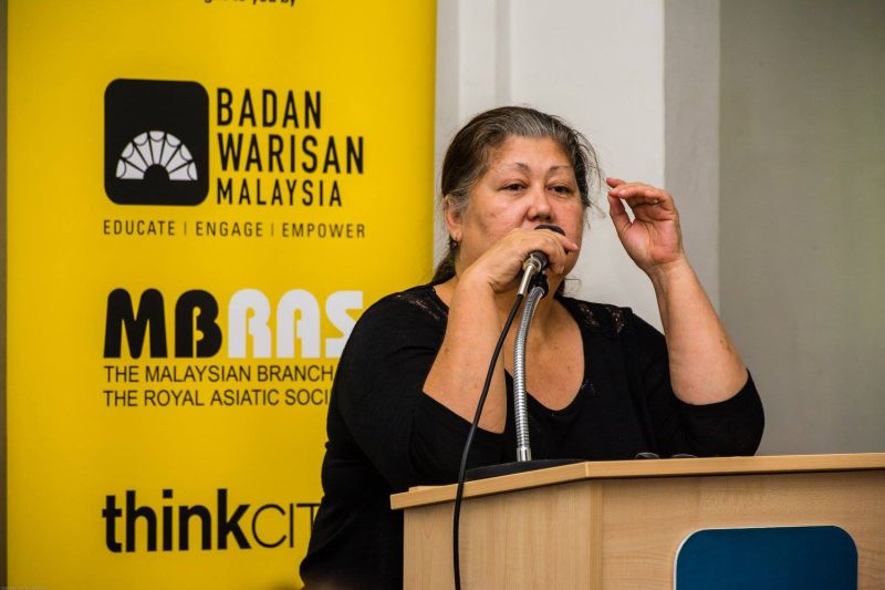 Conservation group Heritage of Malaysia president Elizabeth Cardosa said the National Heritage Act does not provide for powers to revoke a heritage site gazette. ― Picture via Facebook/Badan Warisan Malaysia