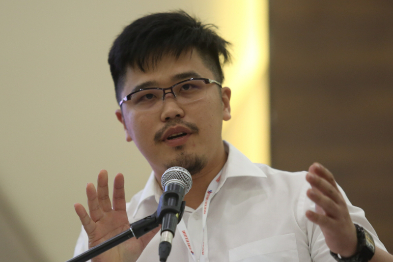 Perak State Youth Development and Sports Committee chairman Howard Lee Chuan How said the effort was due to the demand from e-Sports players and enthusiasts in the state who felt the was a need for administration and regulation. — Picture by Saw Siow Feng