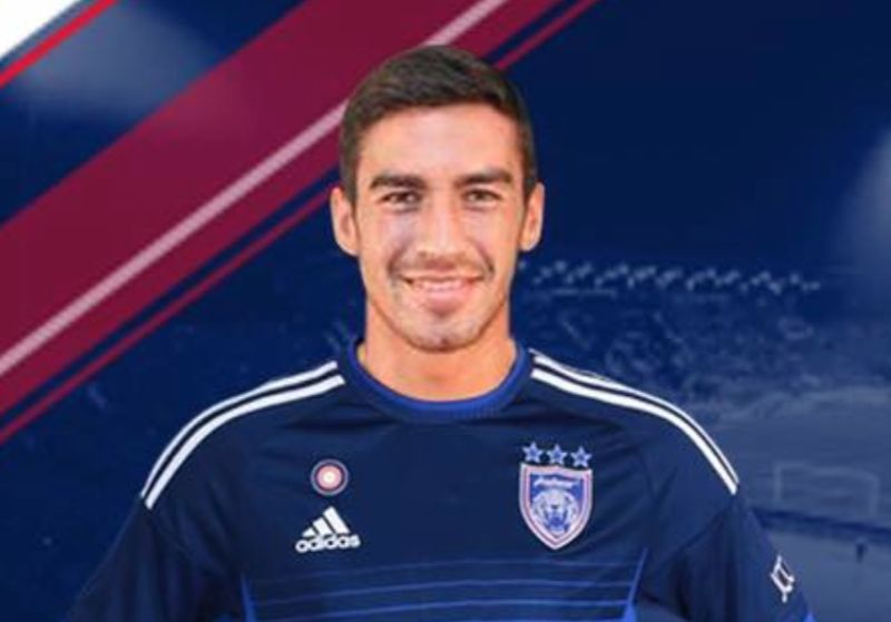 JDT may sell its import striker Juan Martin Lucero from Argentina to a club in Mexico. — Picture courtesy of johorsoutherntigers.com.my