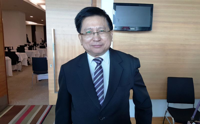 Tan Sri Richard Malanjum is said to be the most senior judge in the Federal Court. — Picture by Sulok Tawie