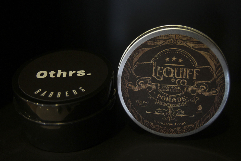 Othrs' own pomade brand retails at RM35. — Picture by Yusof Mat Isa