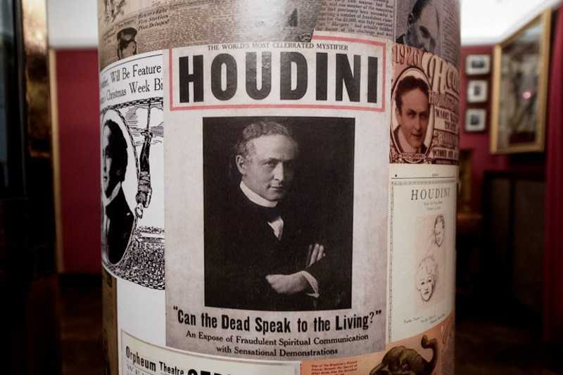 The 'House of Houdini' museum is pictured in Budapest on December 2, 2016. — Pictures by AFP