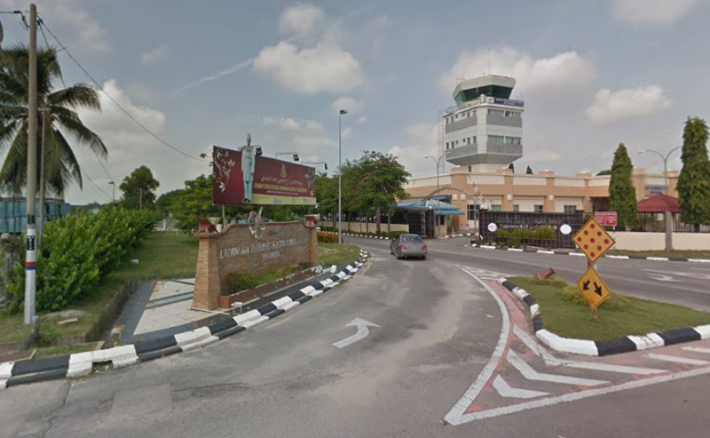 WCT Holdings Bhd has bagged a RM440.37 million contract for the extension and upgrading of Sultan Ismail Petra Airport in Kota Baru. — Google Maps screenshot