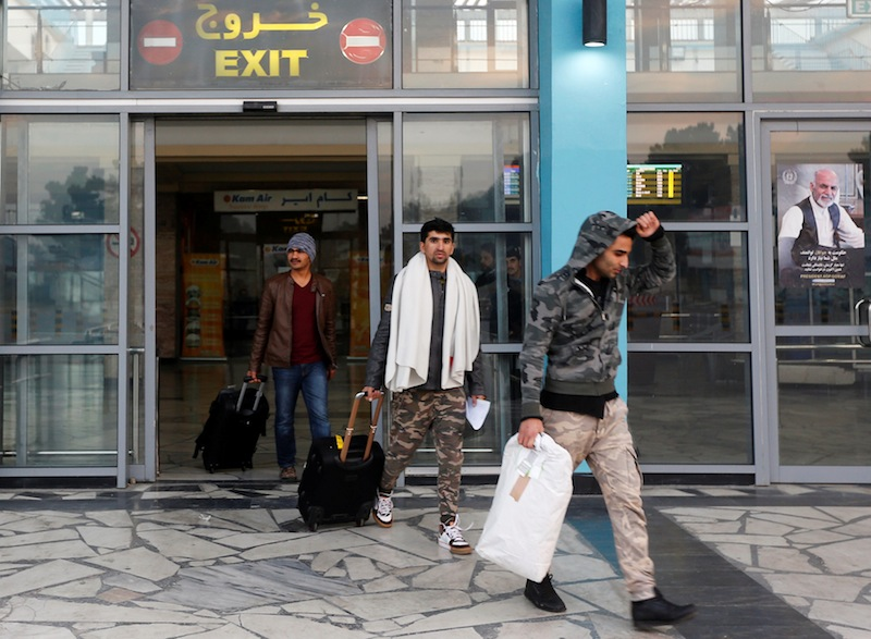 A Taliban spokesman rejected Ankara's proposal to guard and run Kabul's airport after US-led Nato forces depart. —Reuters file pic