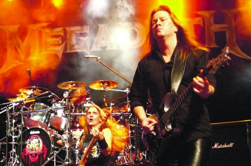 File picture shows the Megadeth concert at Fort Canning Park, 2012 in Singapore. — TODAY pic