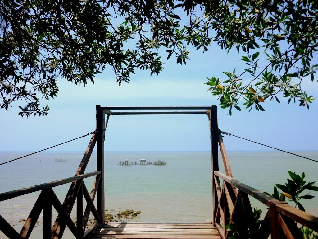 周末,就只想看看绿叶和海景,别的什么都不做。图取自:panoramio