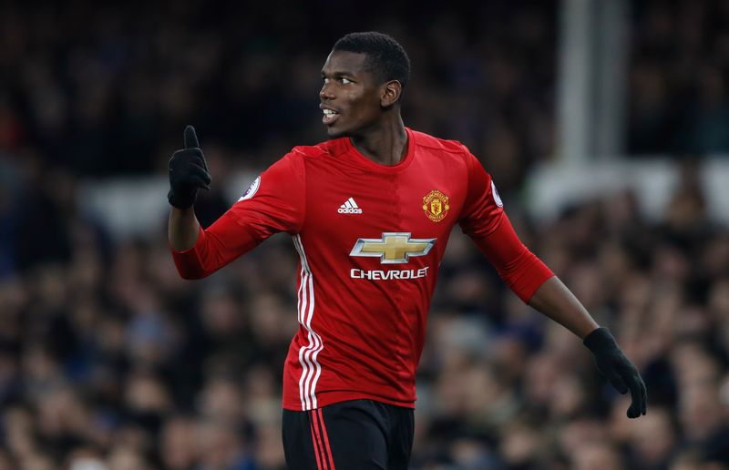 Manchester United's Paul Pogba said the club had conceded easy and stupid goals. — Reuters pic