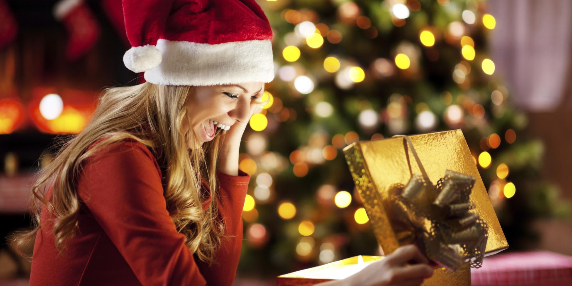"""今年的圣诞节,祝福各位都能收到""""惊喜""""礼物哦!"""