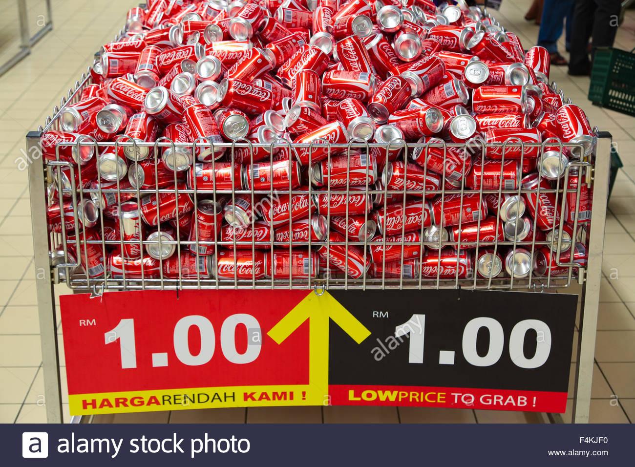 有本事就送我30罐可乐吧!图取自:alamy