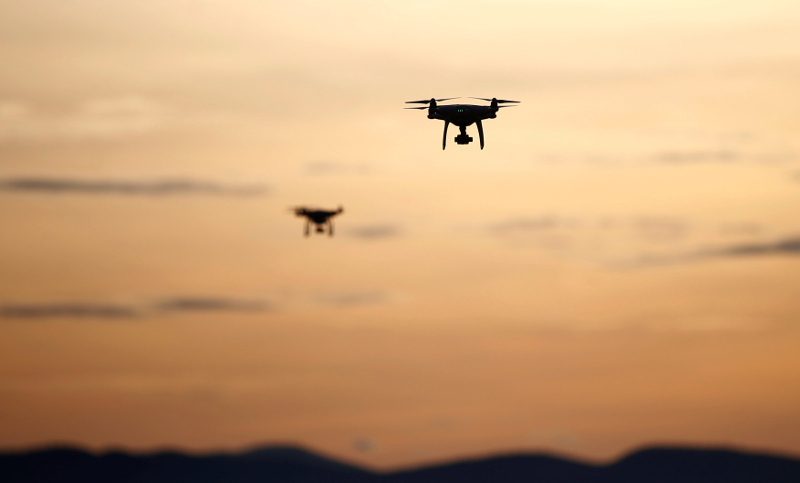 The DCA plans to make drone registration compulsory and will be implementing this in the next two years. — Reuters pic